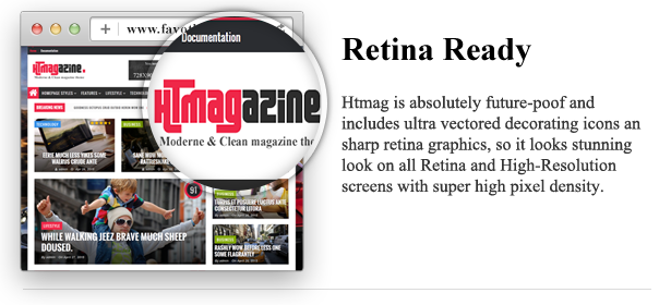 HTmagazine - Moderne Magazine,News & Blog WordPress Theme - 6